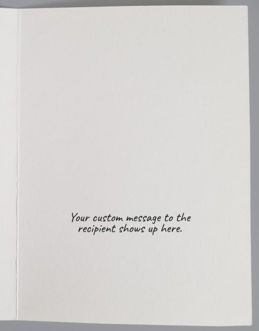 Image of a blank inside card.