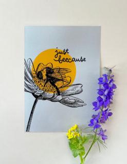 just-beecause-card